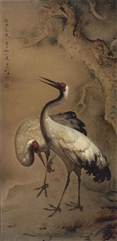 cranes of longevity by lee man fong