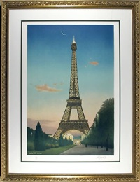 la tour eiffel by bill powell