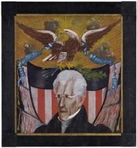 portrait of andrew jackson by edward hicks