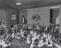 cérémonie vaudou by gérard valcin