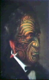 maori portrait by gottfried lindauer