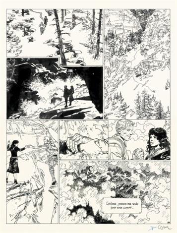 A La Recherche De Peter Pan Planche 94 By Bernard Cosandrey On Artnet