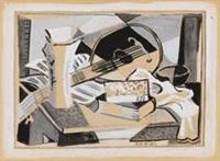 Stilleben mit Gitarre, 1931