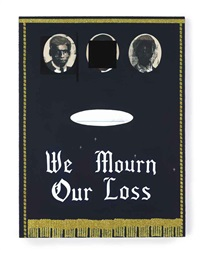 we mourn our loss no.3 by kerry james marshall