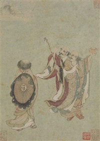 immortals by anonymous-chinese (qing dynasty)
