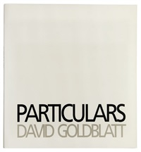 particulars (bk w/27 works, half-title, folio) by david goldblatt