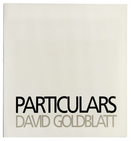 particulars bk w27 works half title folio by david goldblatt