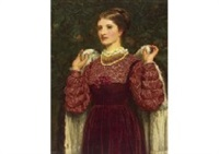 to the party by charles edward perugini
