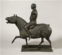 reiter auf pferd by joachim dunkel