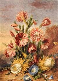flowering cactus by valentine bartholomew