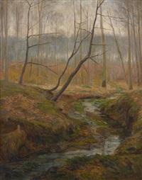 rivière en forêt by leon corthals