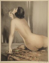 femme nue by louis icart