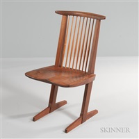 George Nakashima Chairs george nakashima auction results - george nakashima on artnet