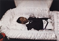 untitled (man in a casket) by william eggleston