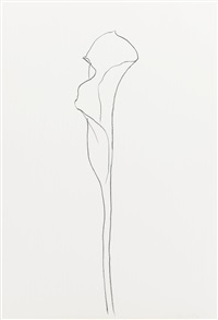 calla lily i and iii (2 works) by ellsworth kelly
