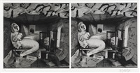 stereoscopic suite (portfolio of 6) by william kentridge