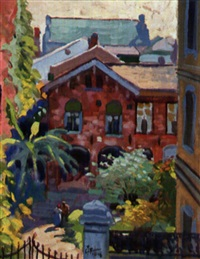 new orleans: morning on royal street by harry t. fisk
