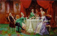 the toast by august stephan