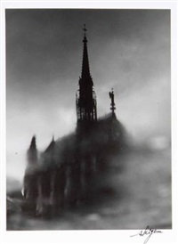 paris. sainte chapelle (from flaques d'eau) by shigeru asano