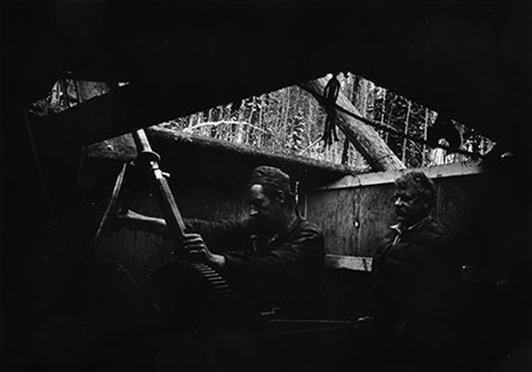 untitled two men with machinery by w eugene smith