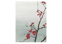 japanese quince and peony (2 works) by tomoki moriyama