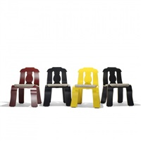 empire chairs (set of 8) by robert venturi