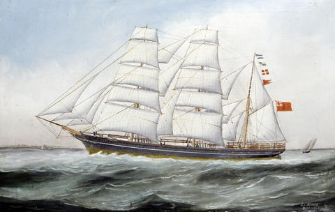 the composite tea clipper taunton by wl alfred