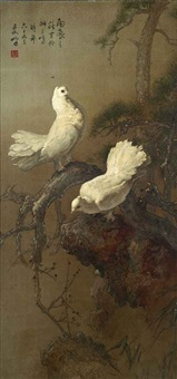 peace doves by lee man fong