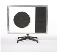 speaker cabinet (collab. w/bernard cirlin and william berlant) by don albinson