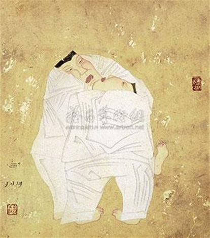 人物 by bai peng