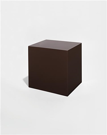 untitled brown block by john mccracken