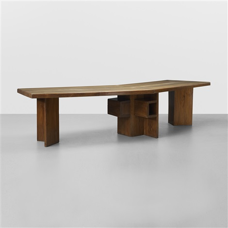 important ministers desk from the high court chandigarh by le corbusier
