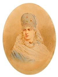 princess zinaida yusupova by stephan fedorovich alexandrovski