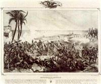 histoires des batailles de napoléon (24 works, by junck) by victor-jean adam