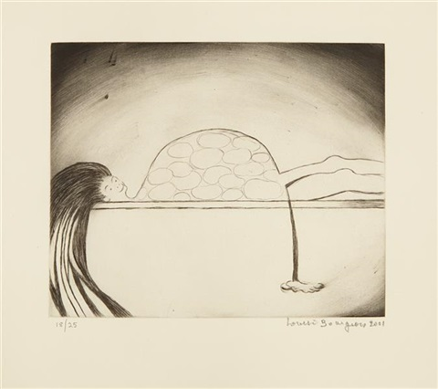 the medical print by louise bourgeois