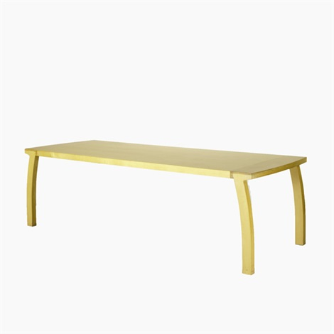aldhabra dining table by dakota jackson