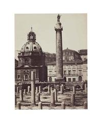 trajan's column, rome by gioacchino altobelli