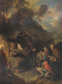 the temptation of st. anthony by david ryckaert iii