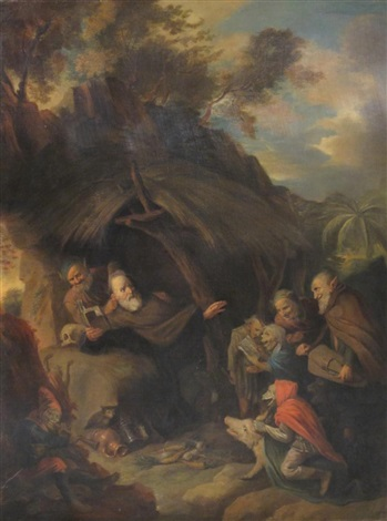 the temptation of st anthony by david ryckaert iii