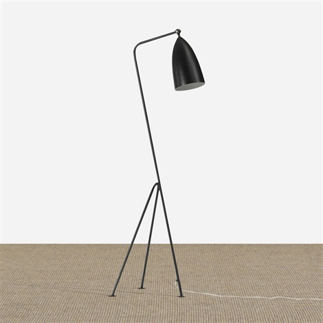 early grasshopper floor lamp by greta magnusson grossman