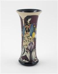 flower maidens vase by paul hilditch