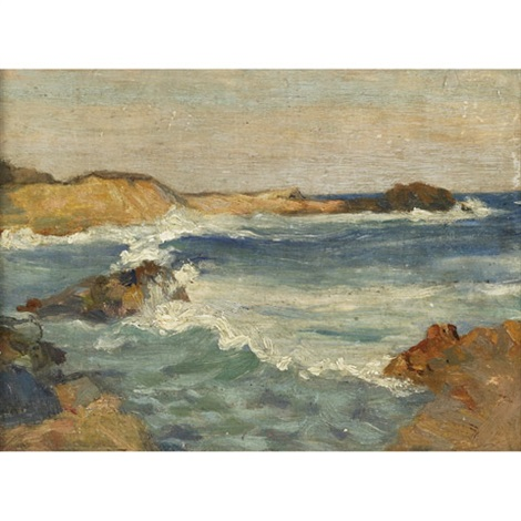 seascape by william brymner