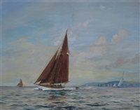 morena off poole harbour by roland langmaid