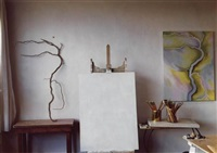 untitled (georgia o'keeffe's studio) by todd webb