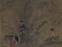 manchu riders by anonymous-chinese (qing dynasty)