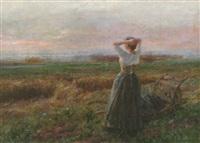 med blicken mot horisonten by arthur langhammer