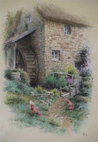 the mill cottage 2 others 3 works by colin newman