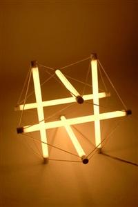 hängeleuchte light structure by peter hamburger and ingo maurer