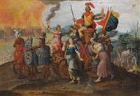 the cycle of the vicissitudes of human affairs by maerten jacobsz van heemskerck