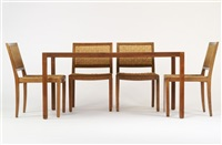dining set (set of 5) by richard fahnkow